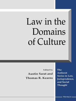 cover image of Law in the Domains of Culture