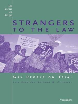 cover image of Strangers to the Law
