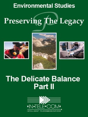 cover image of The Delicate Balance - Part II