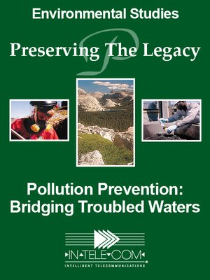 cover image of Pollution Prevention: Bridging Troubled Waters