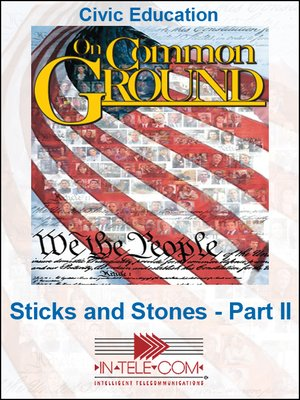 cover image of Sticks and Stones - Part II