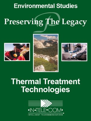cover image of Thermal Treatment Technologies