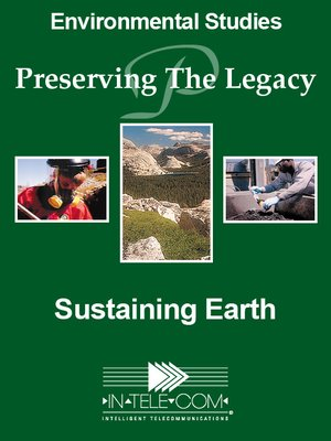 cover image of Sustaining Earth
