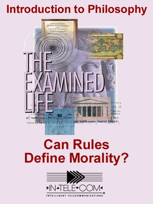 cover image of Can Rules Define Morality?