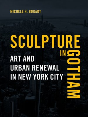 cover image of Sculpture in Gotham