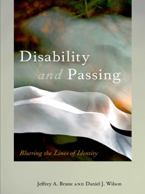 cover image of Disability and Passing