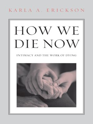 cover image of How We Die Now