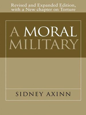 cover image of A Moral Military