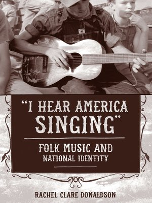 """cover image of """"I Hear America Singing"""""""
