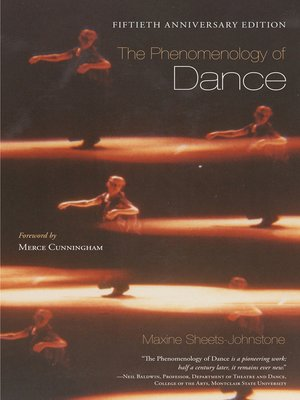 cover image of The Phenomenology of Dance