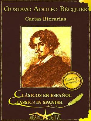 cover image of Cartas Literarias