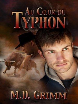 cover image of Au cœur du typhon (Love is a Whirlwind)