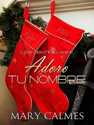 cover image of Adoro tu nombre