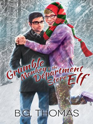 cover image of Grumble Monkey and the Department Store Elf