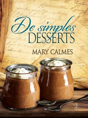 cover image of De simples desserts