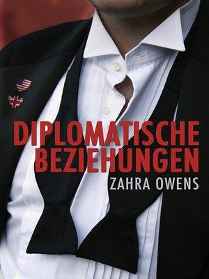 cover image of Diplomatische Beziehungen