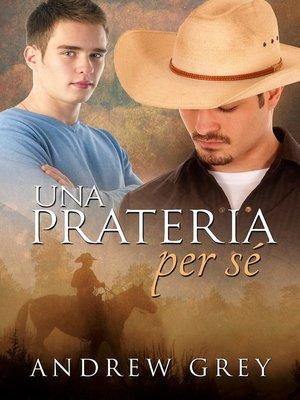 cover image of Una prateria per sé