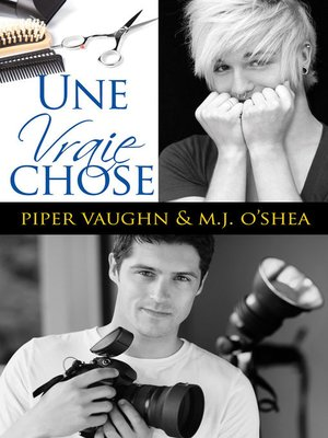 cover image of Une vraie chose