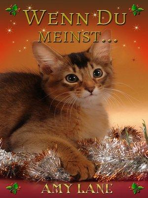 cover image of Wenn Du meinst...