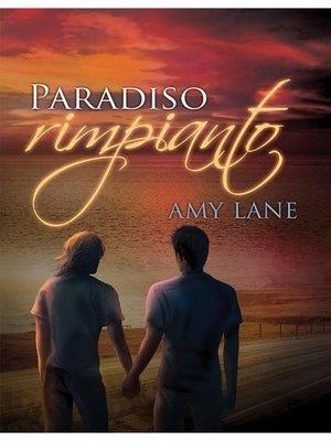 cover image of Paradiso rimpianto