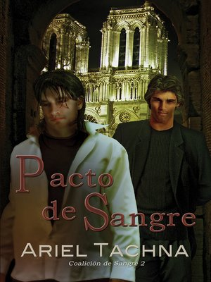 cover image of Pacto de sangre