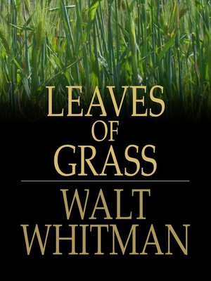 cover image of Leaves of Grass
