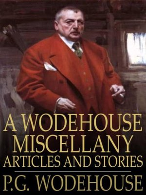 cover image of A Wodehouse Miscellany