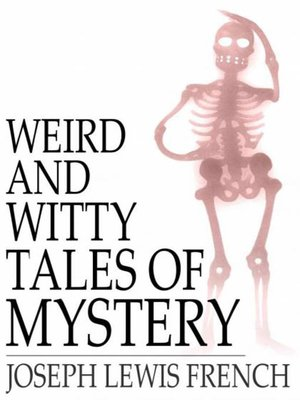 cover image of Weird and Witty Tales of Mystery