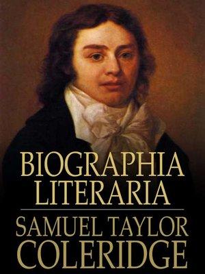 cover image of Biographia Literaria