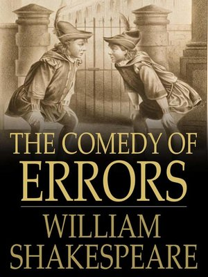 cover image of The Comedy of Errors