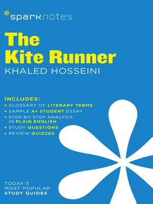 cover image of The Kite Runner: SparkNotes Literature Guide