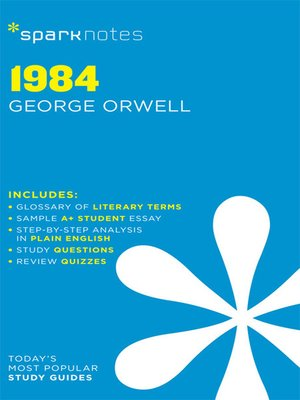 cover image of 1984: SparkNotes Literature Guide