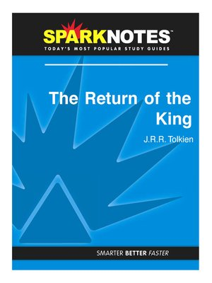 cover image of The Return of the King: SparkNotes Literature Guide