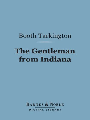 cover image of The Gentleman from Indiana