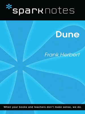 cover image of Dune (SparkNotes Literature Guide)