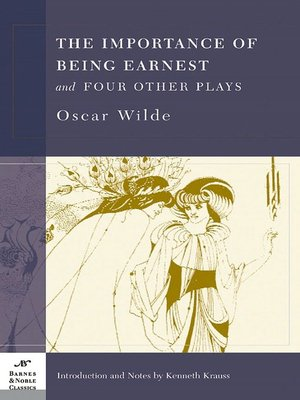 cover image of The Importance of Being Earnest and Four Other Plays