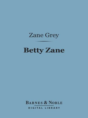 cover image of Betty Zane