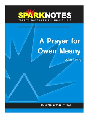 cover image of A Prayer for Owen Meany: SparkNotes Literature Guide