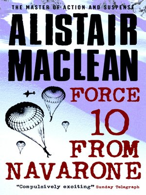 cover image of Force 10 from Navarone