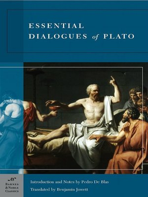 cover image of Essential Dialogues of Plato