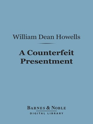 cover image of A Counterfeit Presentment