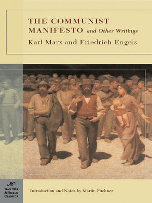 cover image of The Communist Manifesto and Other Writings