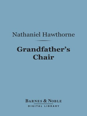 cover image of Grandfather's Chair