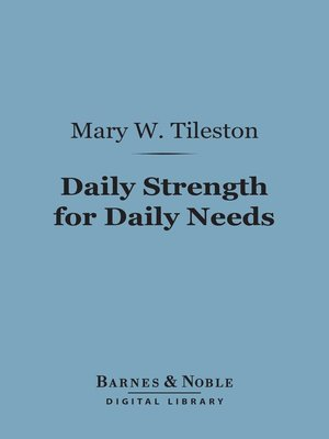 cover image of Daily Strength for Daily Needs