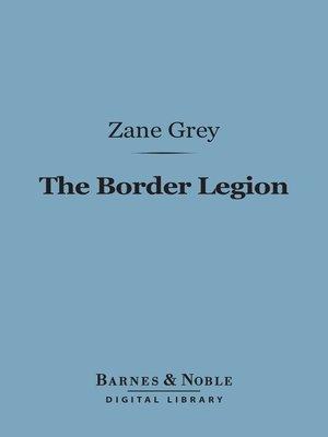 cover image of The Border Legion