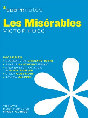 cover image of Les Miserables: SparkNotes Literature Guide