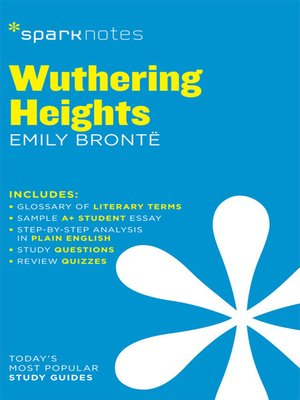 cover image of Wuthering Heights: SparkNotes Literature Guide