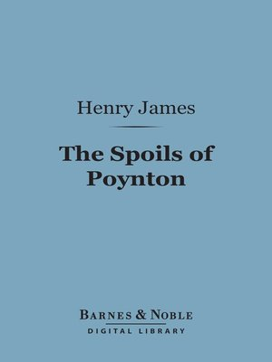 cover image of The Spoils of Poynton