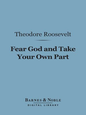 cover image of Fear God and Take Your Own Part