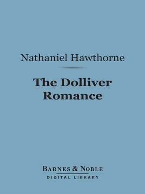 cover image of The Dolliver Romance